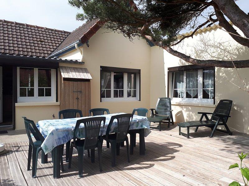 Chés Tchiots Noérs  Gîte en Baie de Somme pour 6 Personnes, holiday rental in Cayeux-sur-Mer