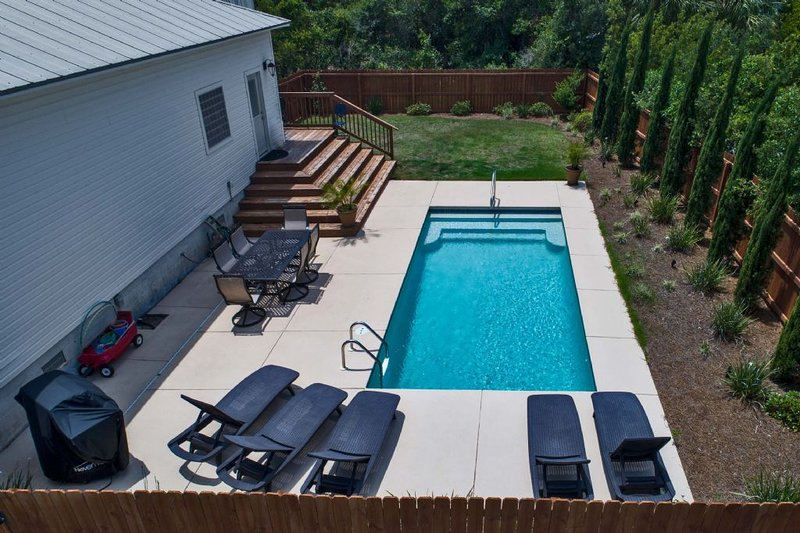 Enjoy the Private Pool in the Backyard
