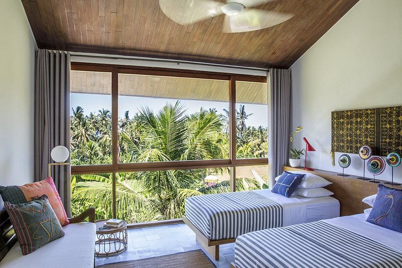 The bedroom with view