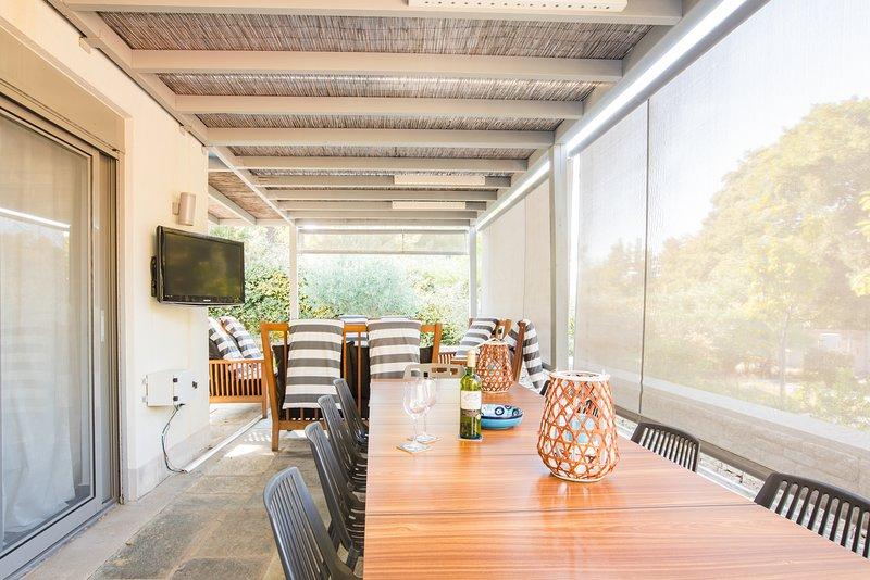 Quintessence Villa Spathies, holiday rental in Elia Nikitis