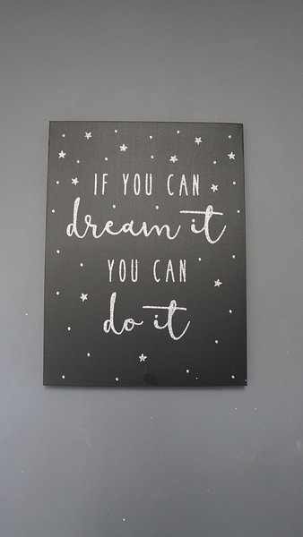 Dream big. :-)