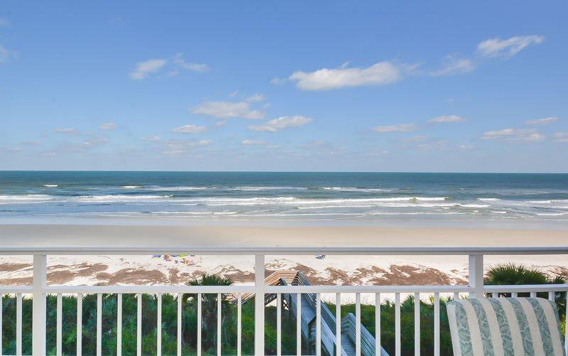 Breathtaking ocean front view.