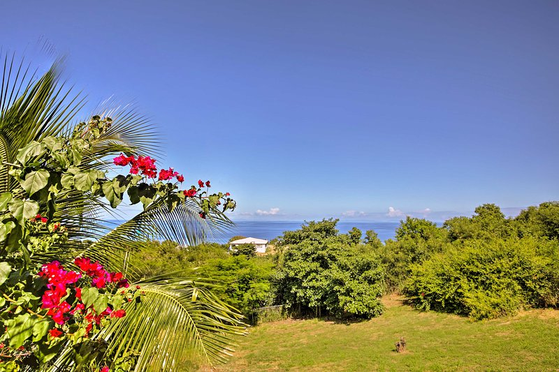 St Croix Home w/ Caribbean Views - 1 Mile to Beach, vacation rental in Cane Bay