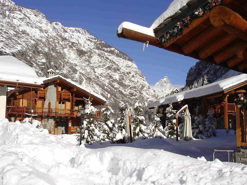 Apartment La Gran Becca, holiday rental in Chamois