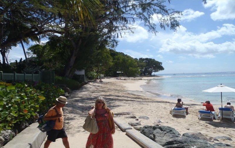 Beach walk by Club House