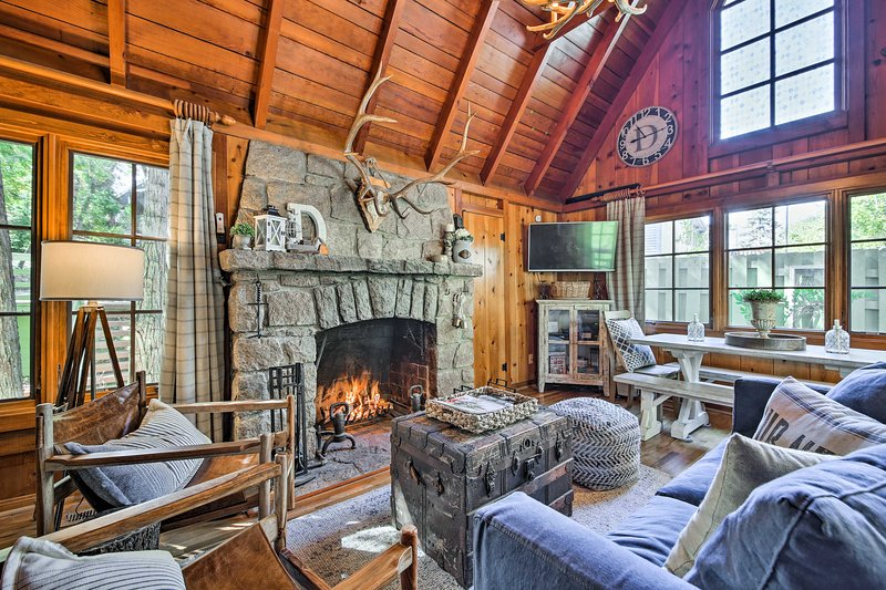 Your dream Lake Arrowhead getaway awaits at this vacation rental cabin!