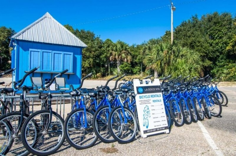 Bike Rentals Available on Property