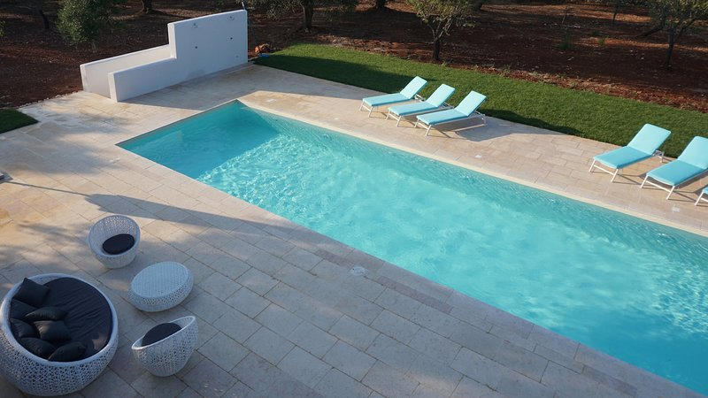 Luxury villa Damigiane, vacation rental in Carovigno
