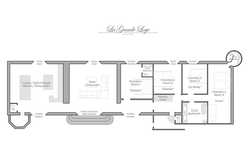 The Grand Lodge Map / Grand Lodge Map