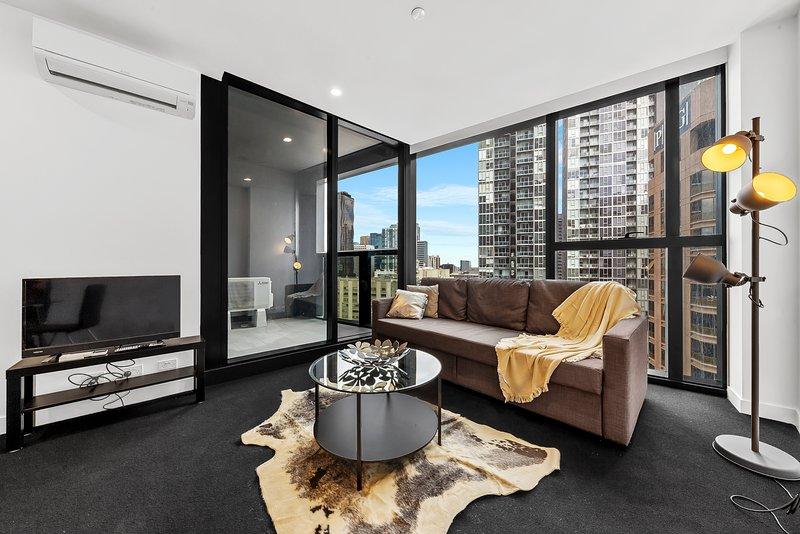 A comfortable & modern interior.