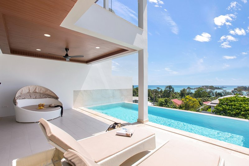 Horizon Villa-3BR Private Pool Semi-Detached, alquiler vacacional en Plai Laem