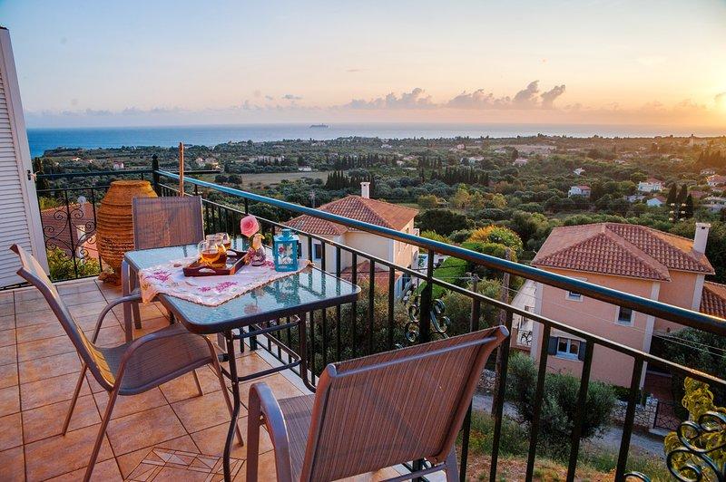 Family Country House with Amazing Views, aluguéis de temporada em Keramiai
