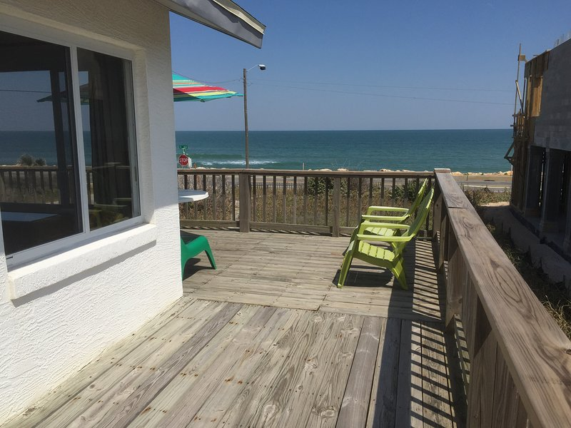 View of the ocean from the wrap-around porch