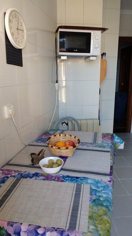 Parte de la cocina exterior