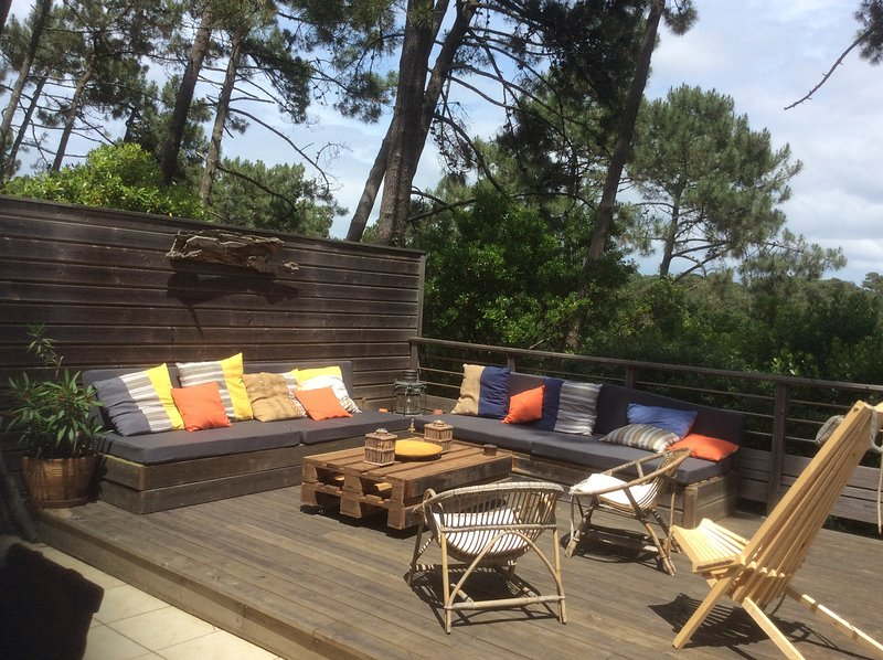 Jolie Villa  9 personnes à l'herbe-cap ferret, vacation rental in Cap-Ferret