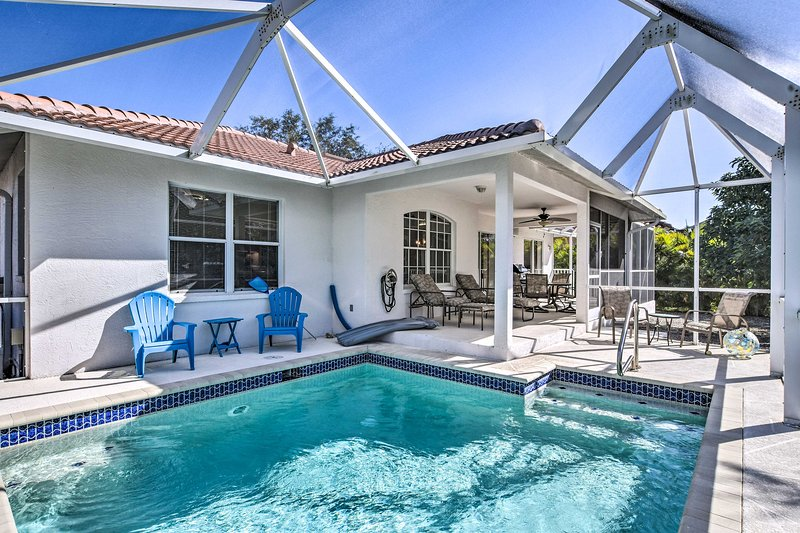 Sunny Marco Island House - 2.5 Blocks to Beach!, vacation rental in Marco Island