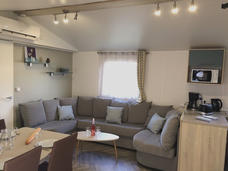 Nice property with pool access, holiday rental in Saint-Julien-en-Born