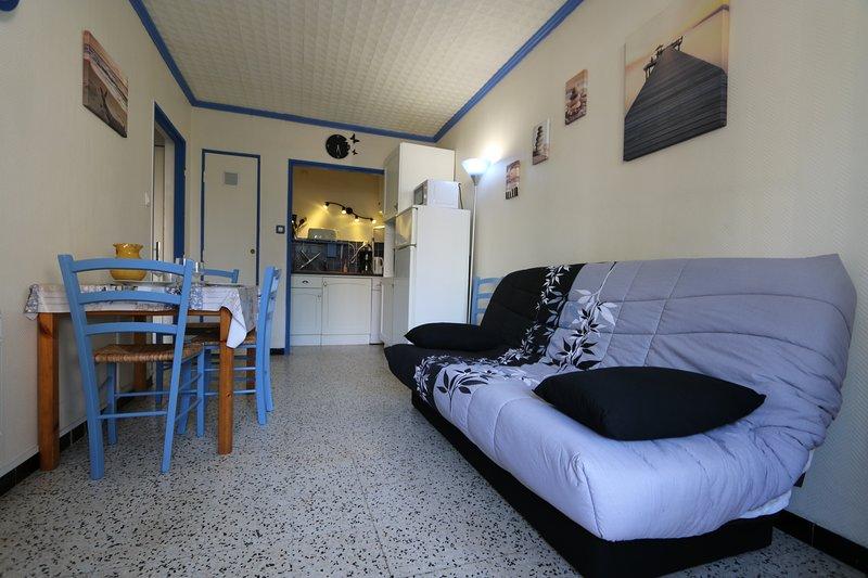 Location appartement saisonnier proche plage wifi gratuit, casa vacanza a Plage d'Argeles