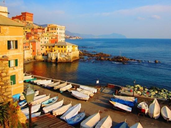 Genoa and seaside (90 km) - Cristoforo Colombo Airport