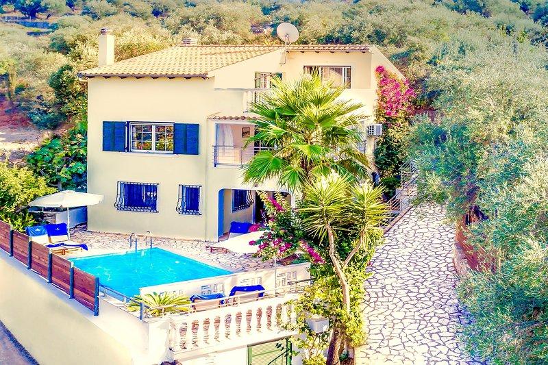 Villa Poseidon, location de vacances à Peroulion