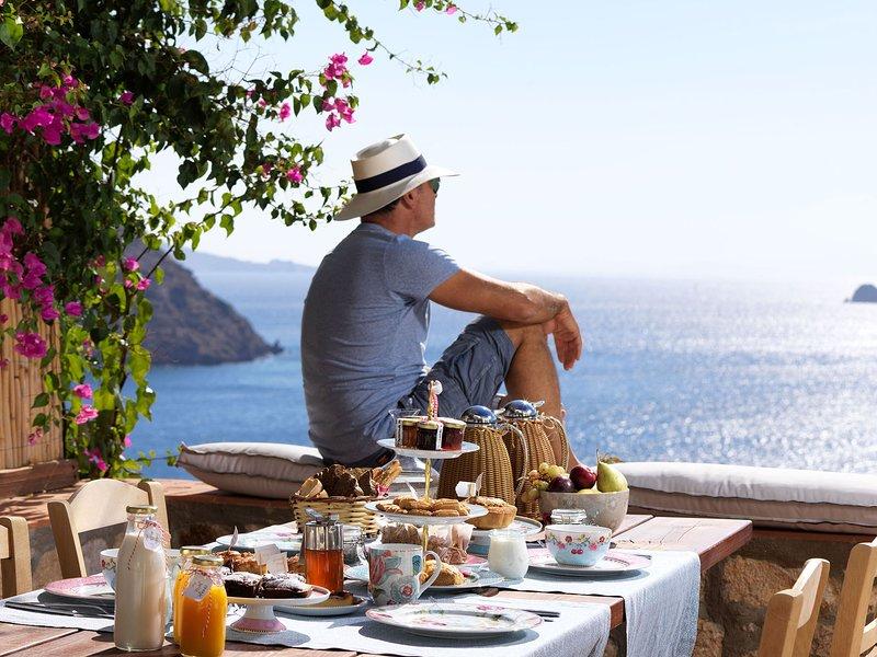 Patmos Eye Villa Sea View, casa vacanza a Grikos