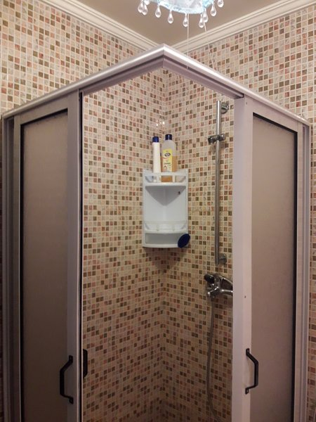 Bathroom by the bedroom