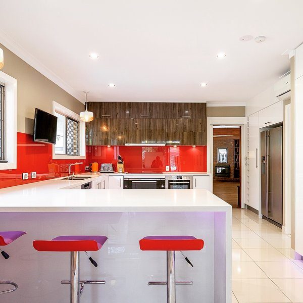 Our modern fully equipped kitchen.