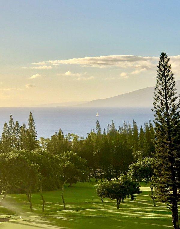 Vistas deslumbrantes de Molokai e do Pacífico