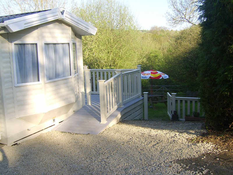 Parcllwyd Caravan with private off road parking