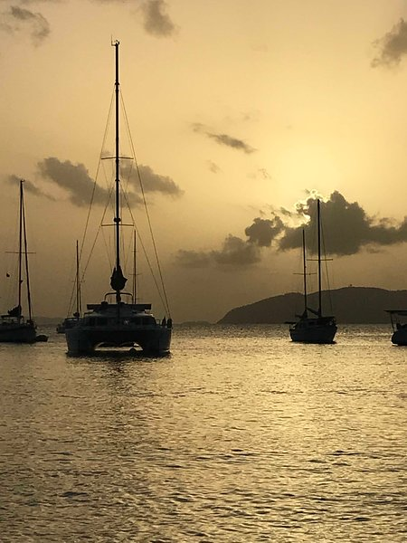 440 Lagoon Catamaran 'BlackSheep Charters', vacation rental in Virgin Islands National Park
