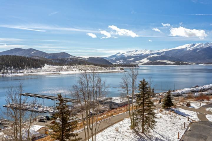 Lake Dillon And Gore Range Views From Private Deck