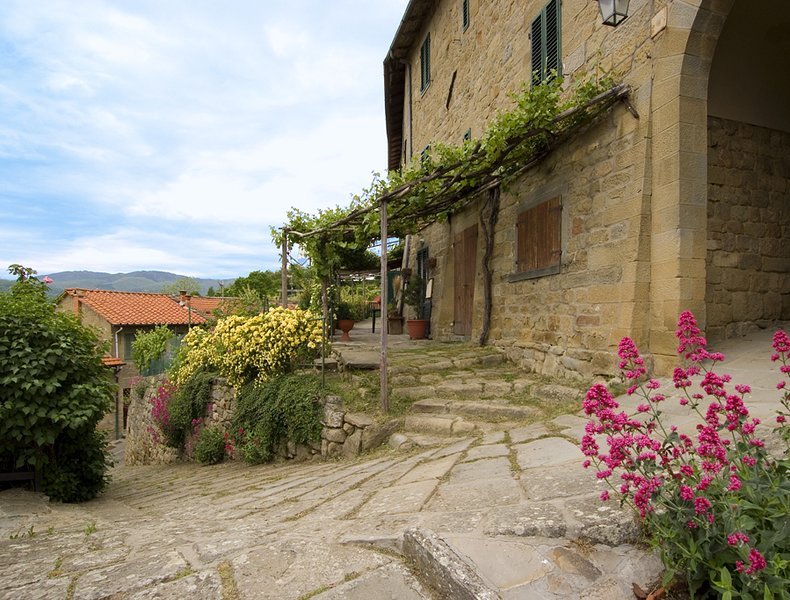 The House of the Dragonfly, cozy holiday cottage in medieval hamlet, holiday rental in Stia