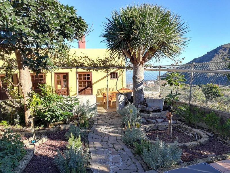 Casa Galloway; relax y senderismo en plena naturaleza.Relax & trekking in nature, holiday rental in El Palmar