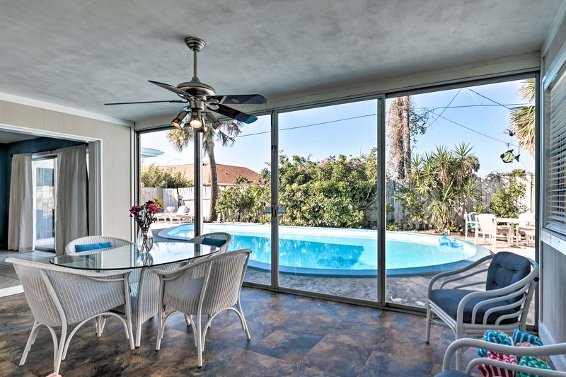 Días maravillosos esperan en esta casa de alquiler de vacaciones en Ormond Beach.