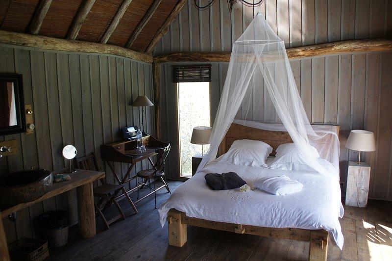 TIKAL NATURE Lodge sur l'eau, holiday rental in Clermont de Beauregard