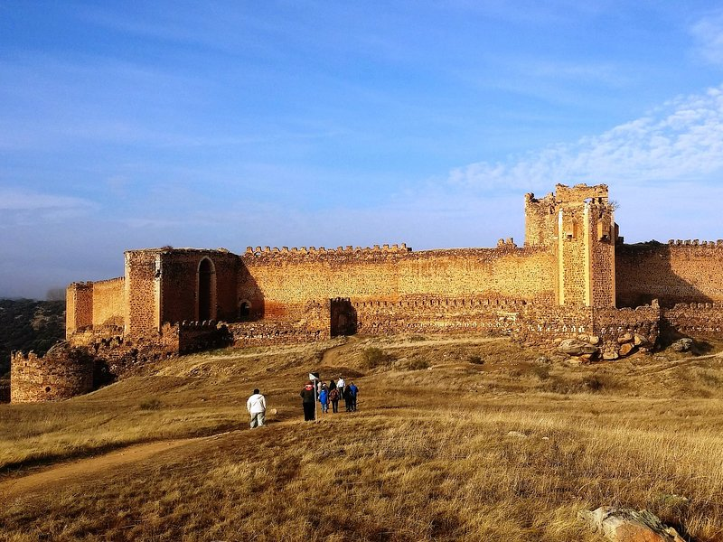 Castle of Montalbán, 50 km away