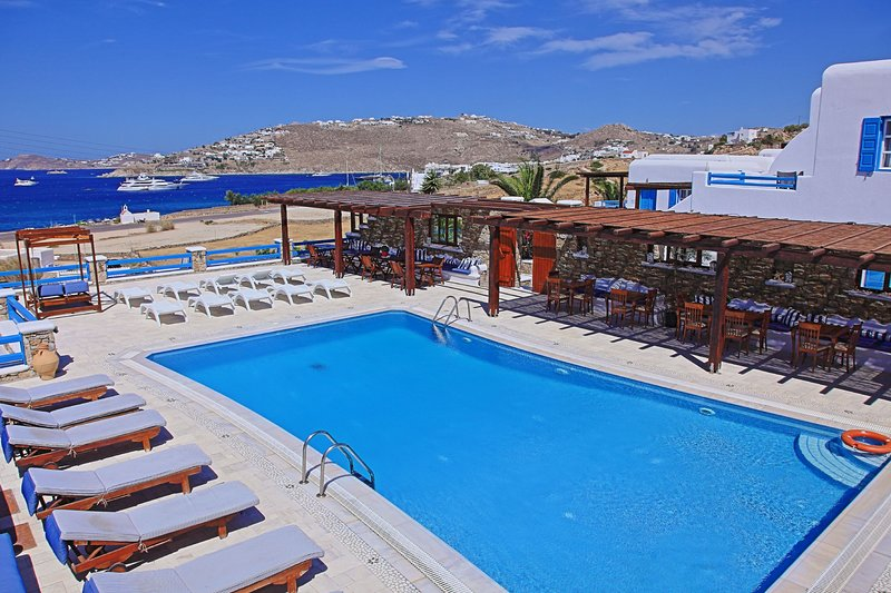 Maganos DekaPente: Traditional one bedroom apt, for 2 persons, enjoys a shared, vacation rental in Paraga