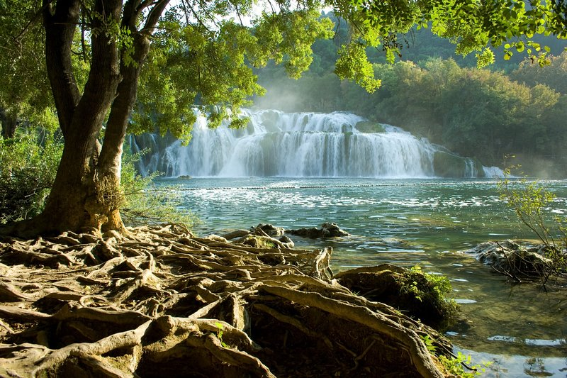 National park Krka, 40 km from the apartment