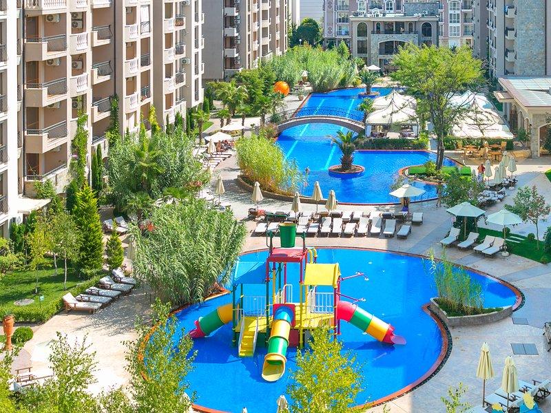 One bedroom apartment Cascadas Family Resort, casa vacanza a Sunny Beach