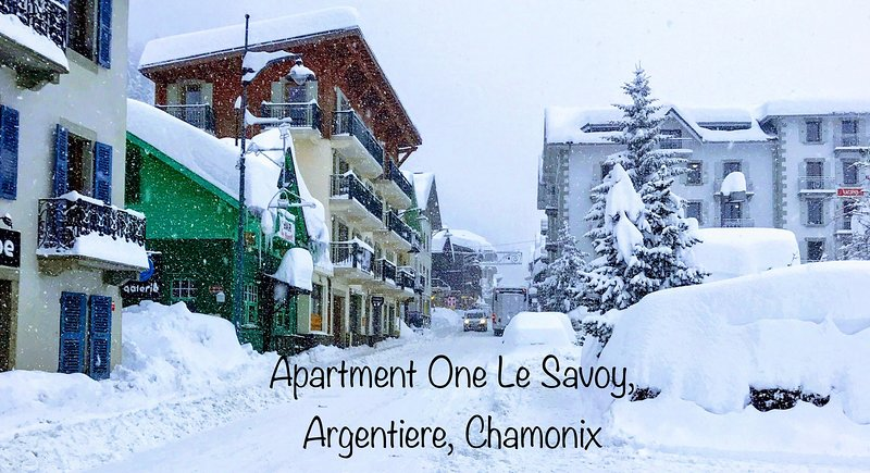 One Le Savoy is located in Argentiere Chamonix