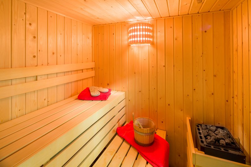 Castle Suites MOH Sauna Relaxation Area