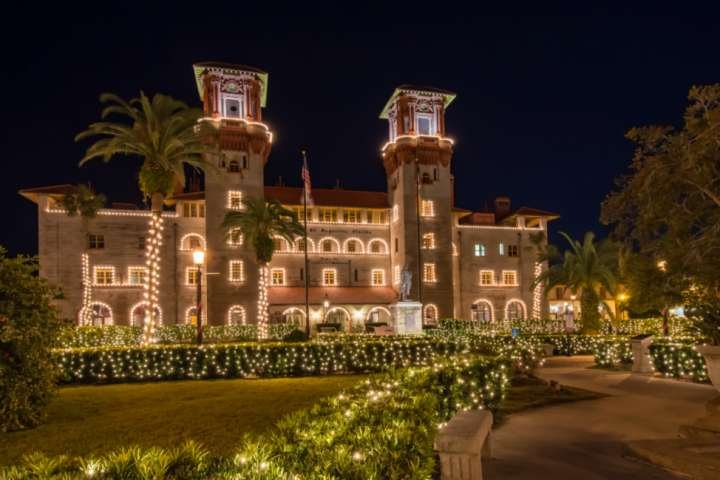 The Lightner Museum decked out for Nights of Lights!