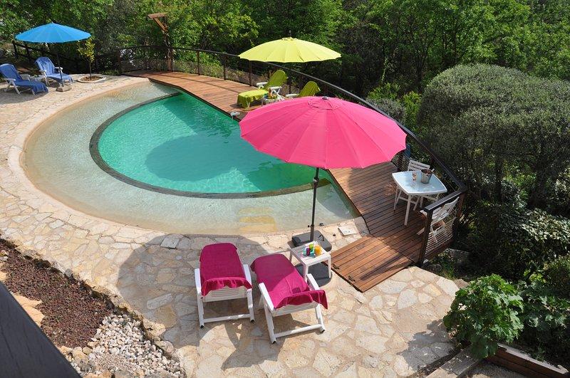 Ferienwohnung in 2-Familien-Haus, location de vacances à Tourrettes-sur-Loup