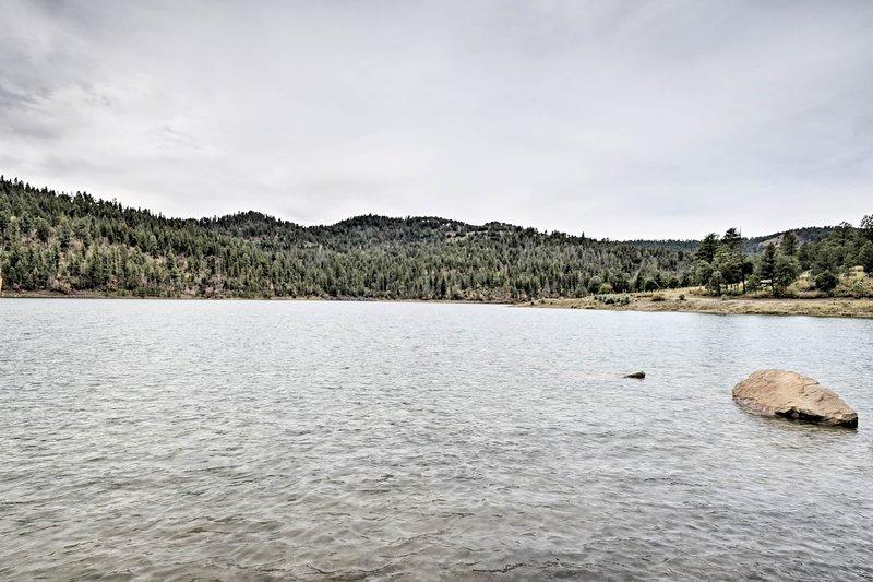 Grindstone Lake is minutes away!