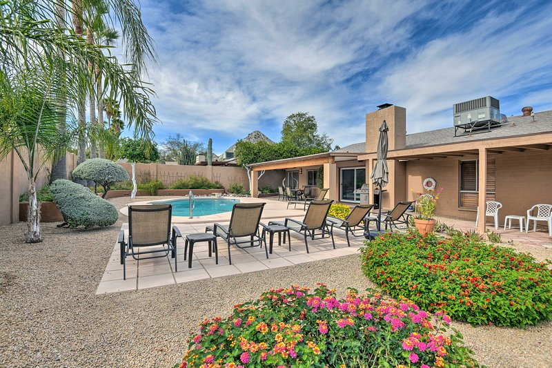 Add some luxury to your Phoenix getaway at this superb vacation rental house!