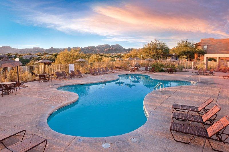 Área da piscina do WorldMark Rancho Vistoso