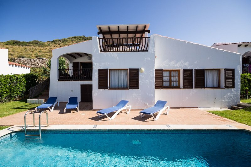 3 Bedroom Villas Playas de Fornells, Menorca, vacation rental in Mercadal