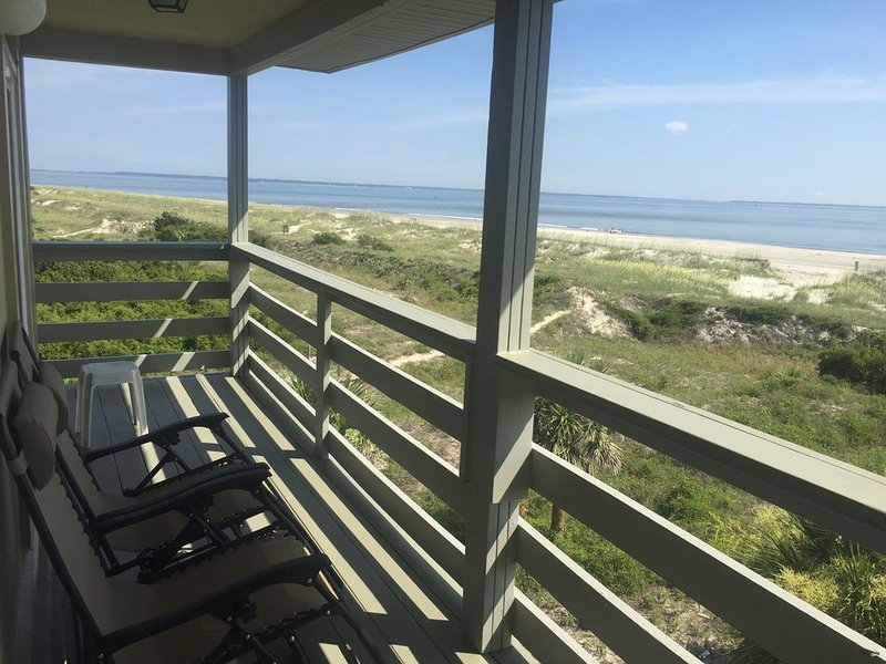 270 Degree Ocean View - Beach Front -Tybee Island, holiday rental in Tybee Island