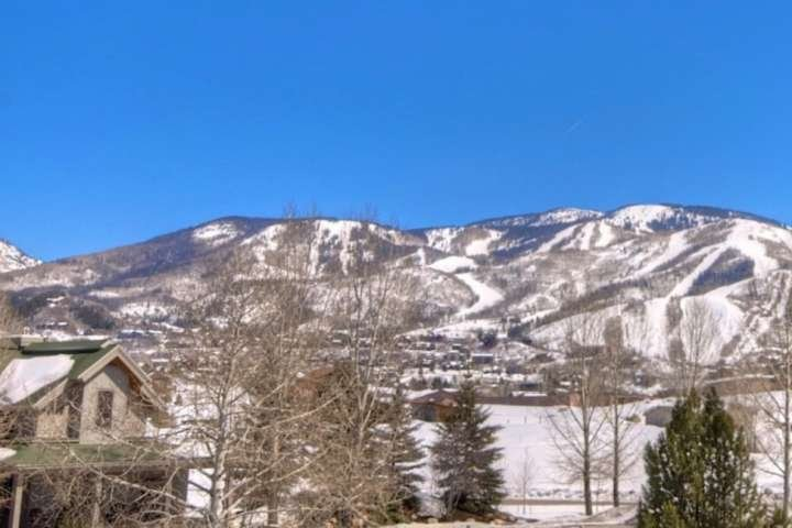 Stunning view of the slopes right from your unit.