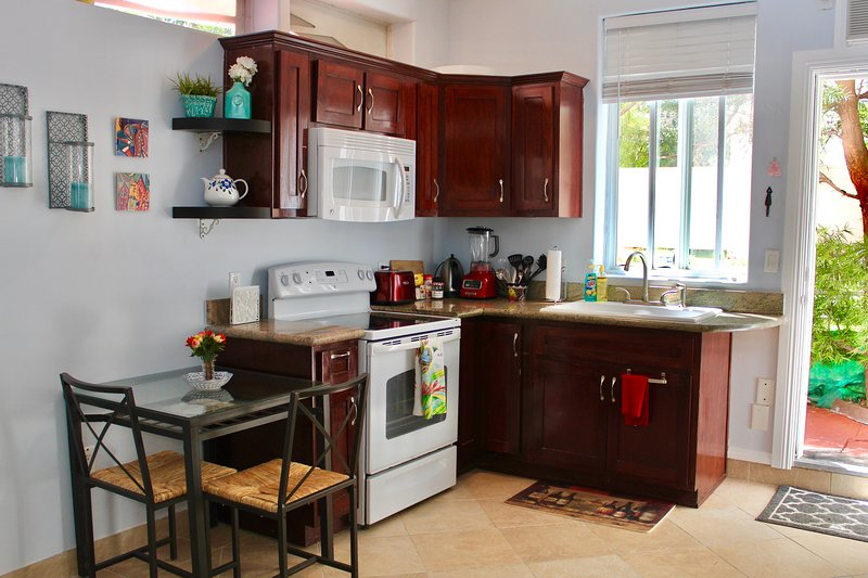 Kitchenette and private entrance!